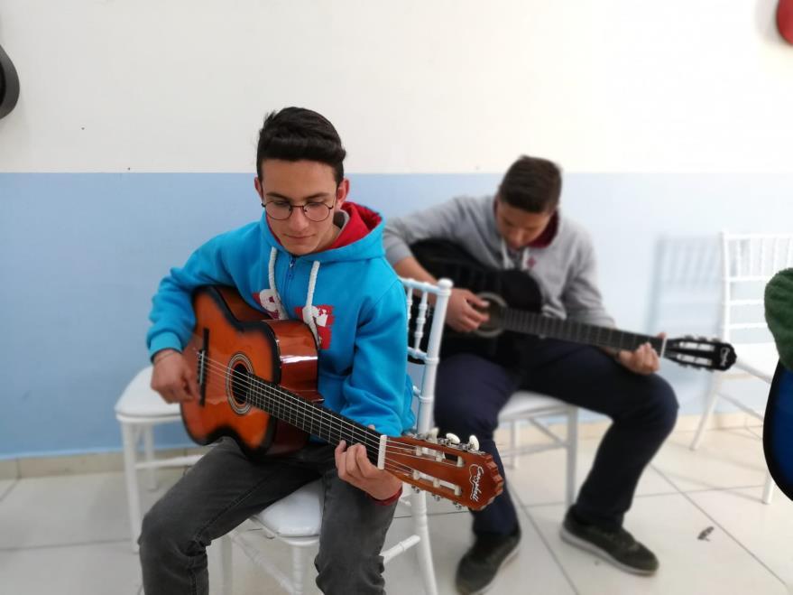 Müzik Atölyesi Gitar Dersi