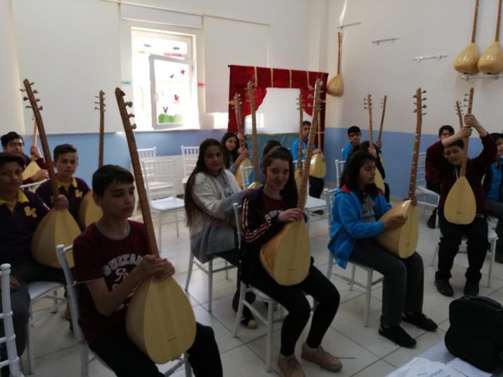 Müzik Atölyesi Bağlama Dersi