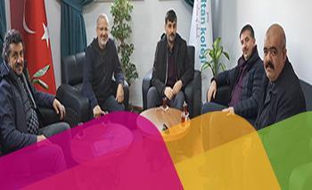 Karaman Başarı Koleji Genel Müdürü Mehmet Coşar Hocam ve Erdemli Gaye Koleji Genel Müdürü Hakan Eraslan Hocam Ziyaretimize Geldiler Şeref Verdiler.