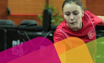 Öğrencilerimizden Özge Yılmaz Çekya´nın Ostrava şehrinde düzenlenen 62.Avrupa Gençler Masa Tenisi Şampiyonası'nda Çift Bayanlarda Avrupa ikinciliğini elde etti