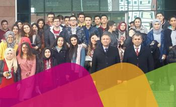 Öğrencilerimiz Nuh Naci Yazgan Üniversitesinde