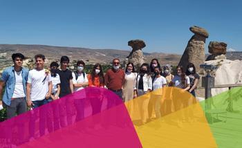 Öğrencilerimiz Kapadokya Üniversitesinde